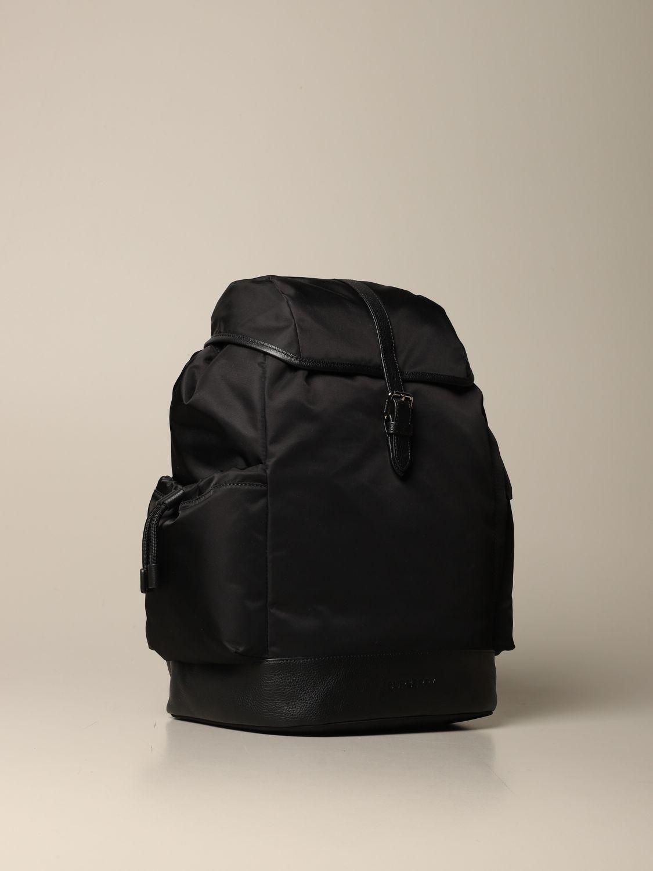 Zaino Burberry: Zaino Burberry in eco-nylon sostenibile con finiture in pelle nero 3