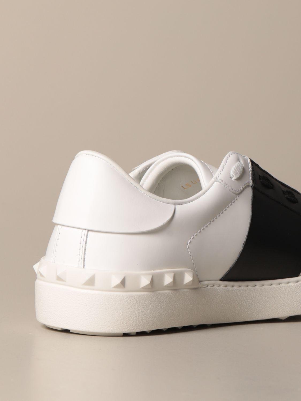 Sneakers Valentino Garavani: Valentino Garavani Open sneakers in leather with band white 3