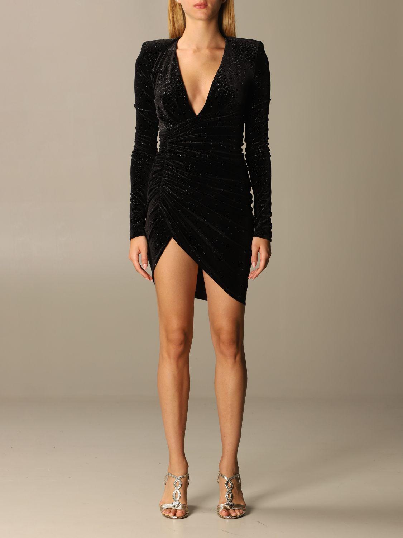 Dress Alexandre Vauthier: Dress women Alexandre Vauthier black 1