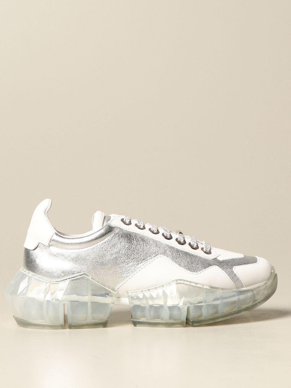 Sneakers Jimmy Choo DIAMOND FLAK Giglio EN