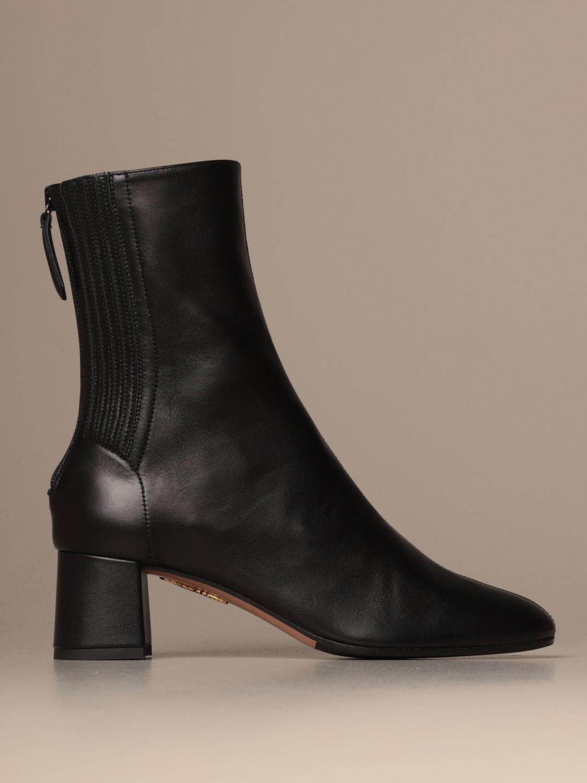 高跟裸靴 Aquazzura: 高跟裸靴 女士 Aquazzura 黑色 1