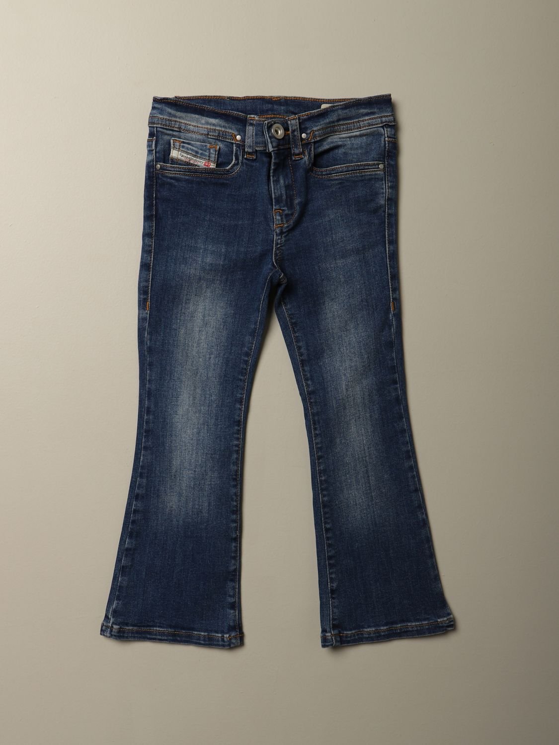 Jeans Diesel: Jeans Diesel flare fit in denim denim 1