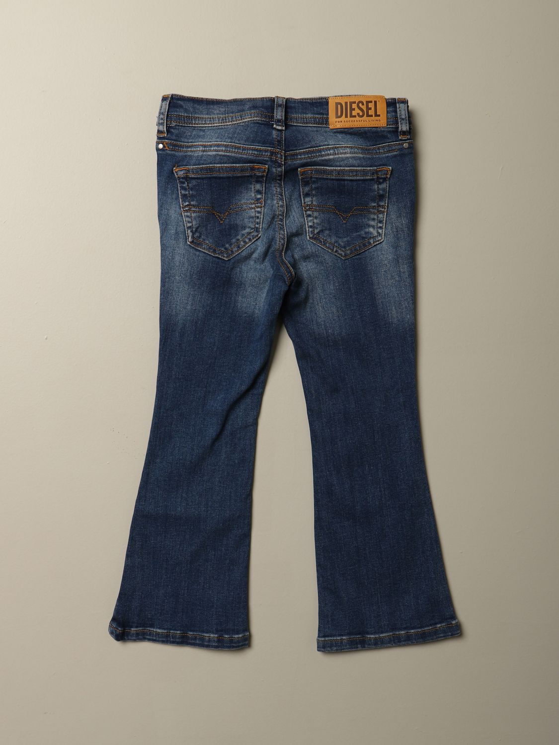 Jeans Diesel: Jeans Diesel flare fit in denim denim 2