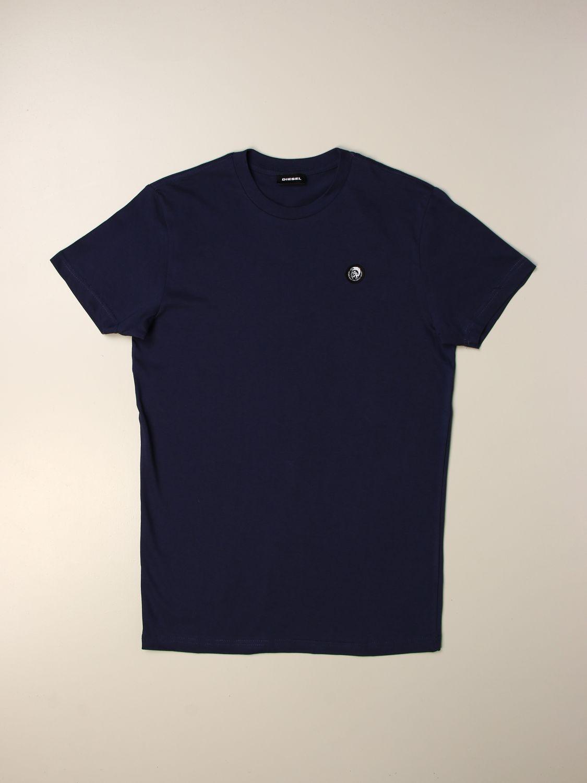 Camiseta Diesel: Camiseta niños Diesel pavo real 1