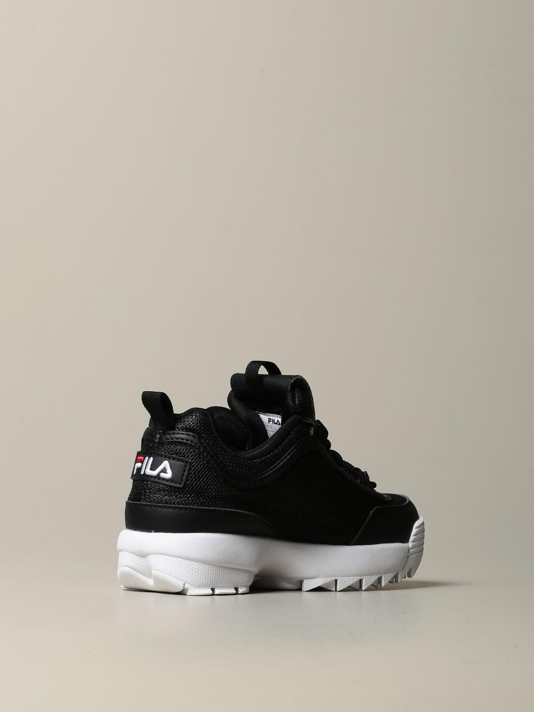 鞋履 Fila: 鞋履 儿童 Fila 黑色 3