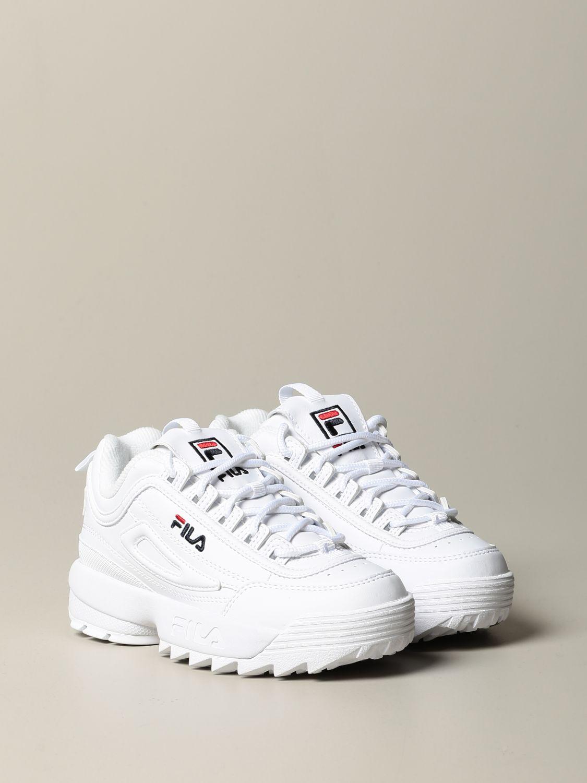 鞋履 Fila: 鞋履 儿童 Fila 白色 2