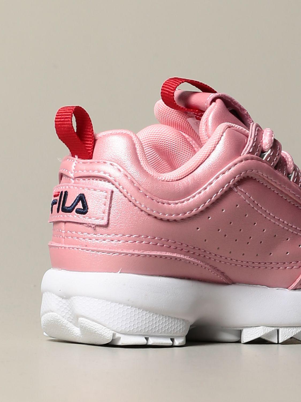 鞋履 Fila: 鞋履 儿童 Fila 粉色 3