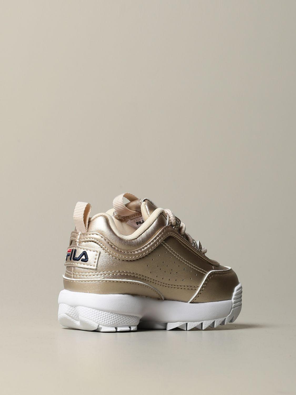 鞋履 Fila: 鞋履 儿童 Fila 金色 3