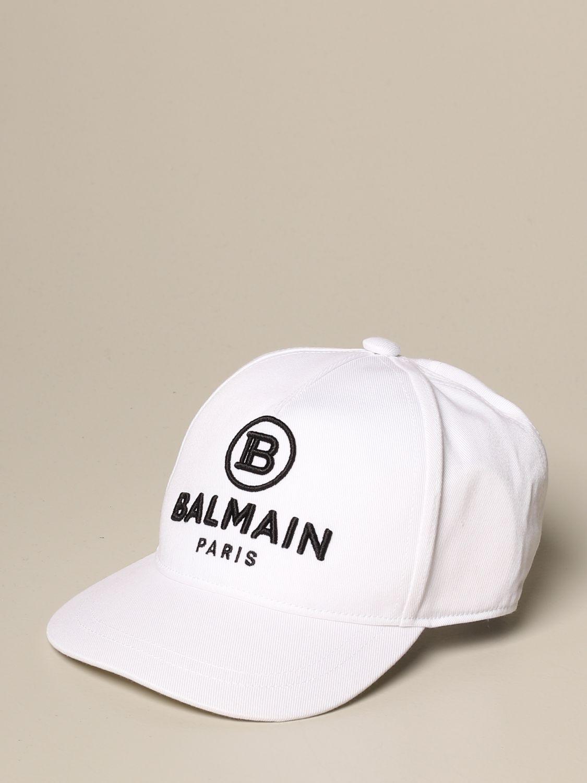 Hat girl Balmain: Hat girl kids Balmain white 1