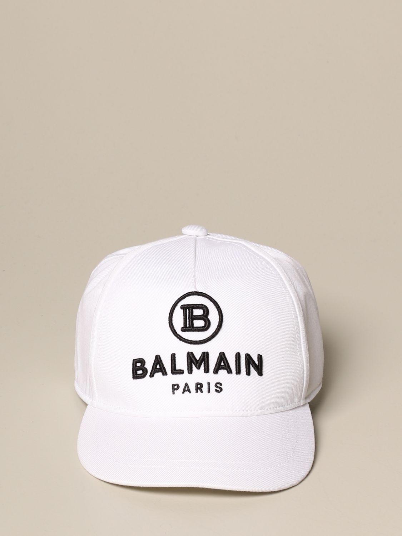 Hat girl Balmain: Hat girl kids Balmain white 2
