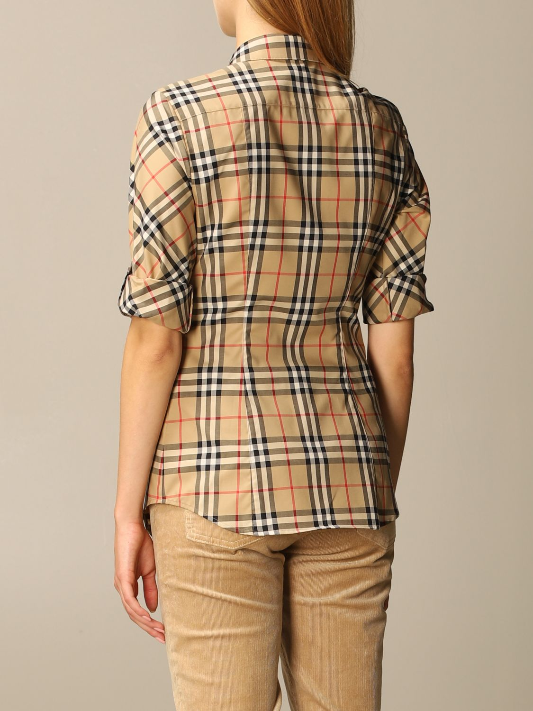 Shirt Burberry: Shirt women Burberry beige 2