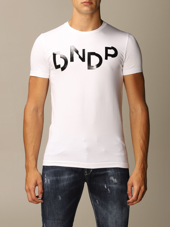 T-Shirt Dondup: T-shirt herren Dondup blau 1