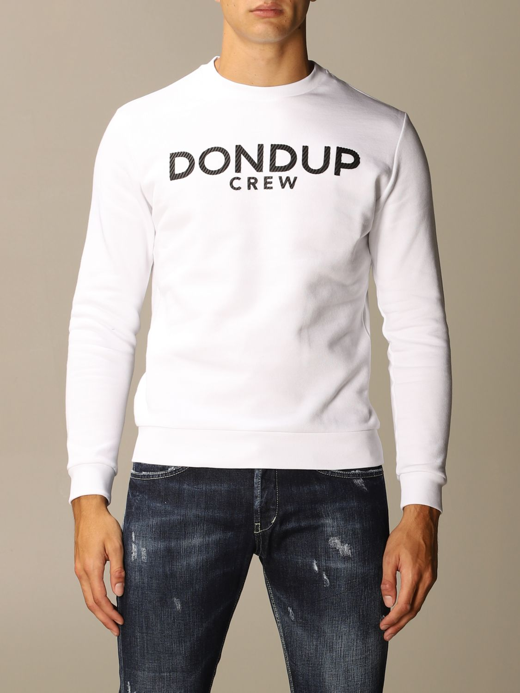 Толстовка Dondup: Толстовка Мужское Dondup белый 1