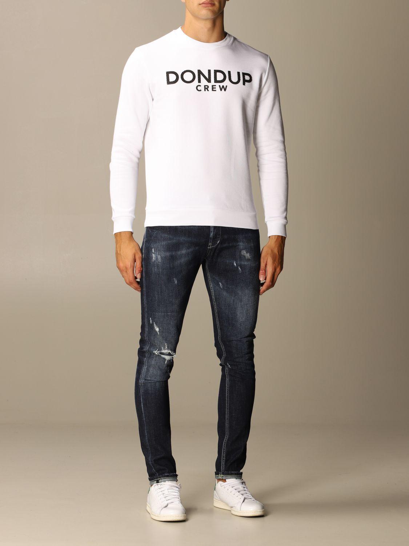 Толстовка Dondup: Толстовка Мужское Dondup белый 2