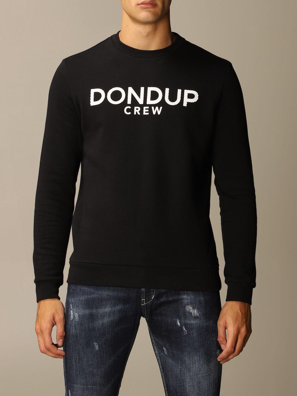 Sweatshirt Dondup: Sweatshirt men Dondup black 1