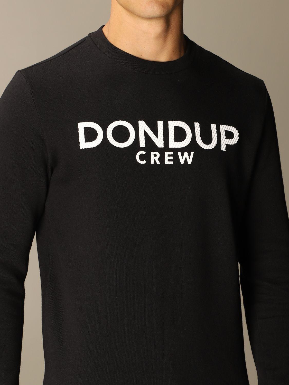 Sweatshirt Dondup: Sweatshirt men Dondup black 4