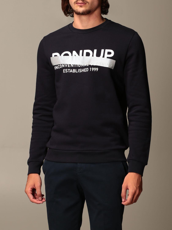 Sweatshirt Dondup: Sweatshirt men Dondup blue 3