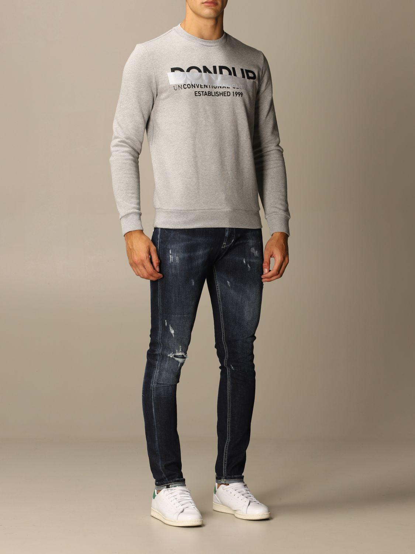 Sweatshirt Dondup: Sweatshirt herren Dondup grau 2