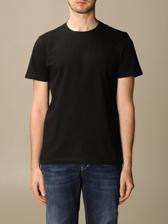 T-shirt Dondup: Dondup cotton T-shirt with mini logo black 1