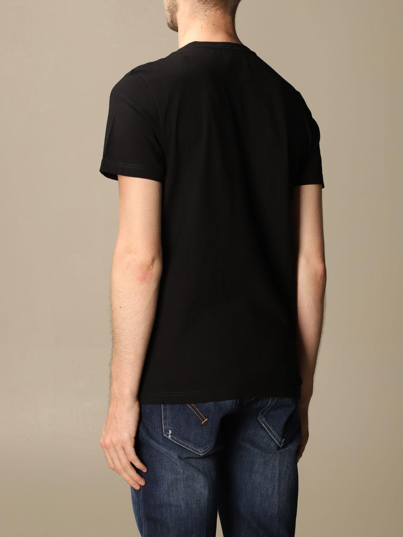 T-shirt Dondup: Dondup cotton T-shirt with mini logo black 2