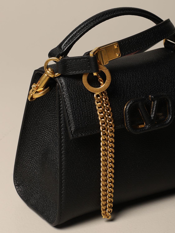 Handtasche Valentino Garavani: Schultertasche damen Valentino Garavani schwarz 4