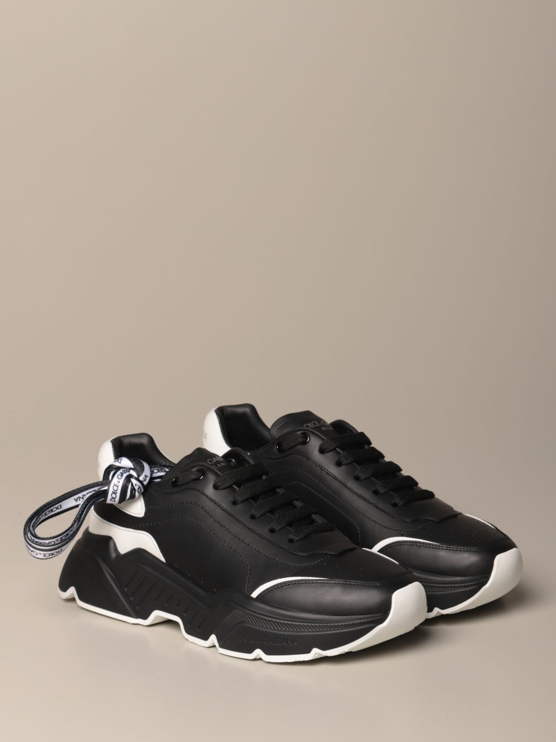 Sneakers Dolce & Gabbana: Dolce & Gabbana running sneakers in leather with logo multicolor 2