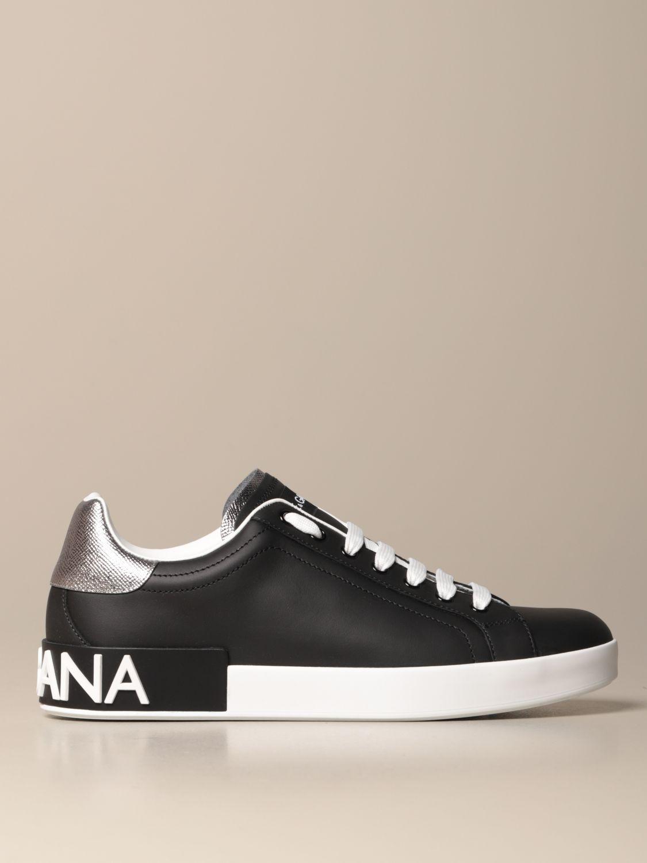 dolce and gabbana mens portofino sneakers