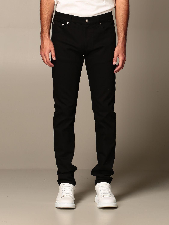 Jeans Alexander Mcqueen: Jeans men Alexander Mcqueen black 1