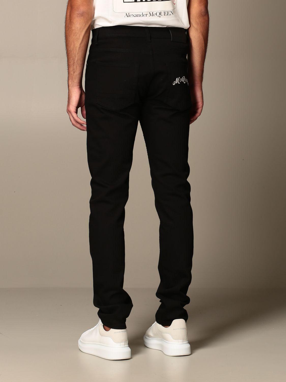 Jeans Alexander Mcqueen: Jeans men Alexander Mcqueen black 2