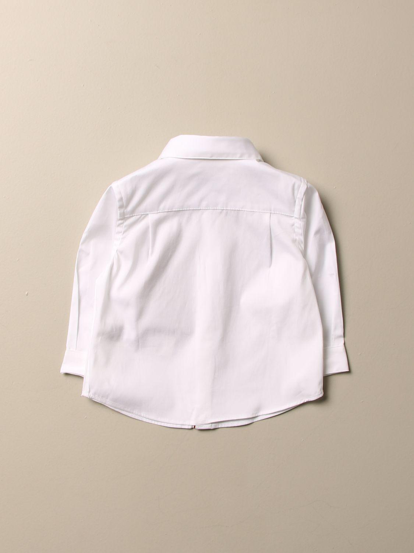 Camisa Burberry: Camisa niños Burberry blanco 2