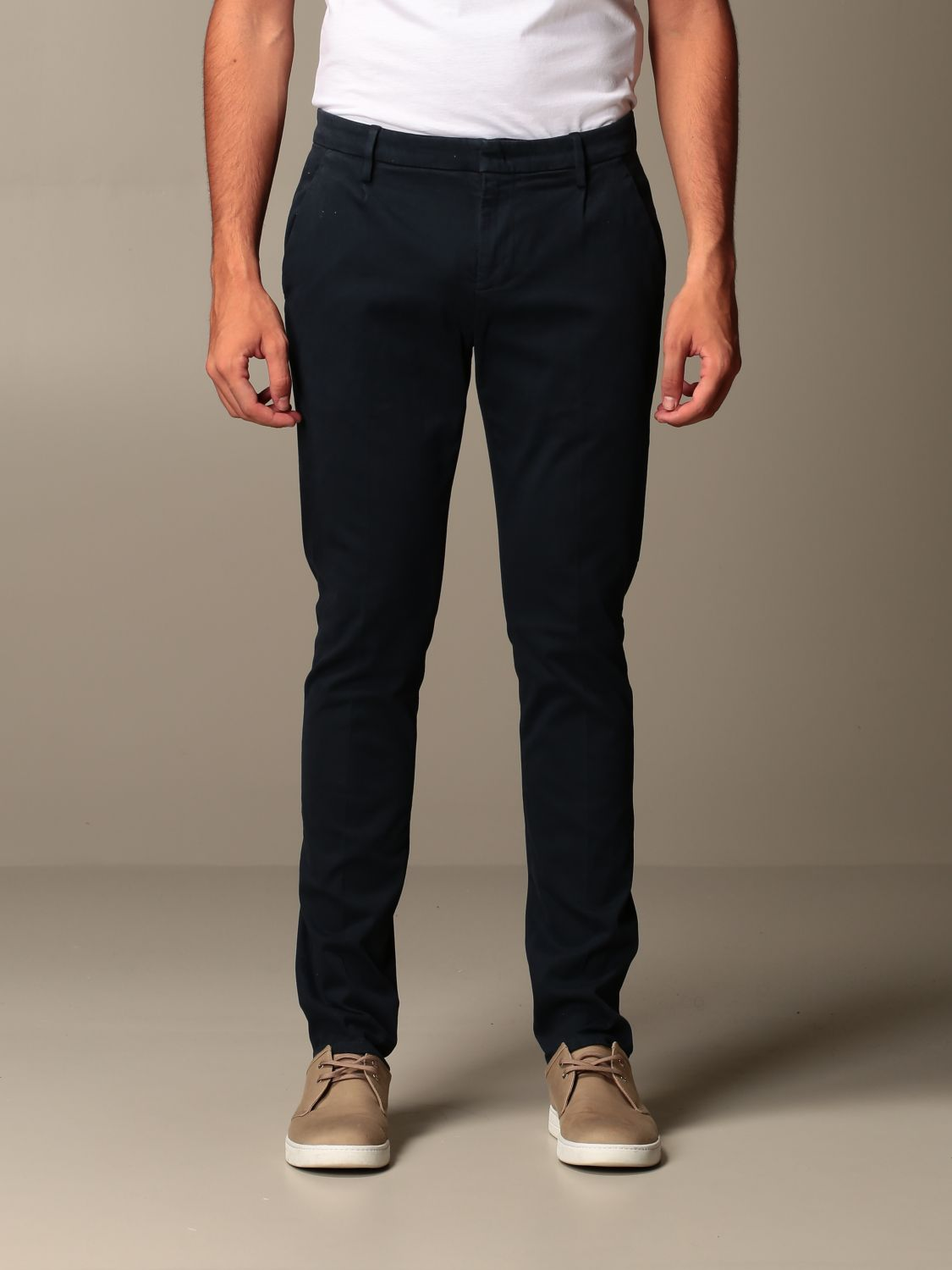 Pants Dondup: Pants men Dondup blue 1