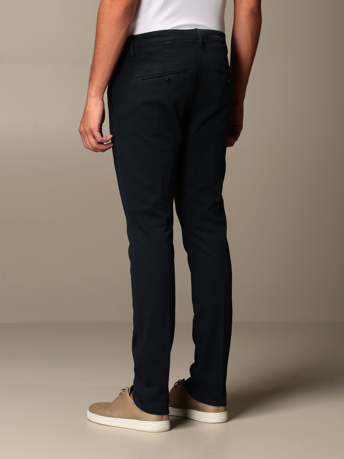 Pants Dondup: Pants men Dondup blue 2