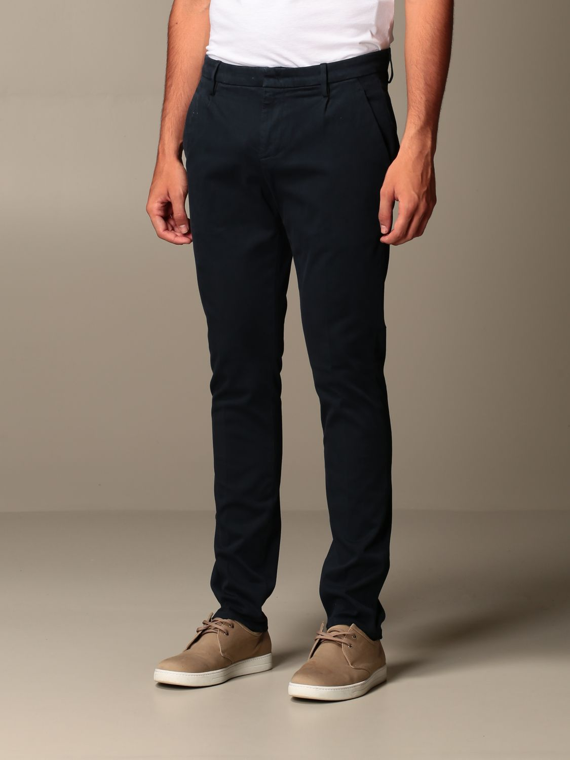 Pants Dondup: Pants men Dondup blue 3
