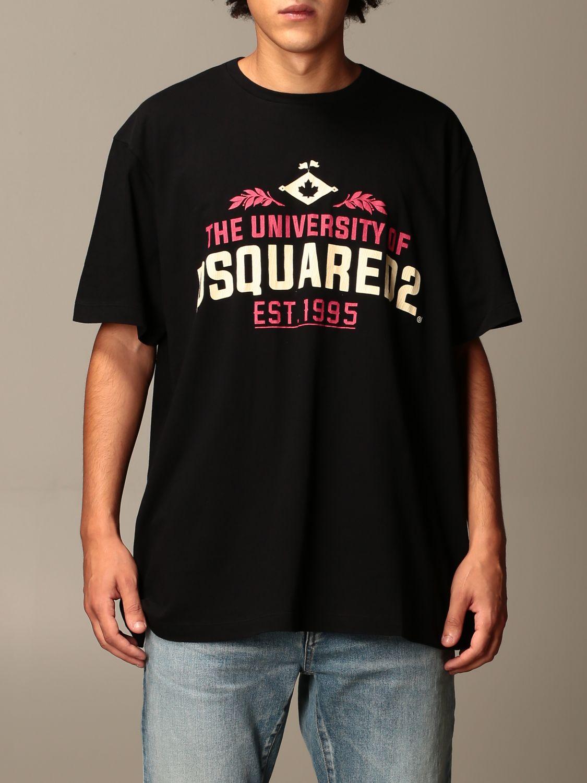 T-Shirt Dsquared2: T-shirt herren Dsquared2 schwarz 1