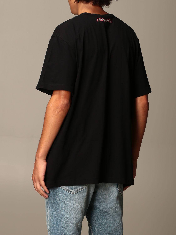 T-Shirt Dsquared2: T-shirt herren Dsquared2 schwarz 2