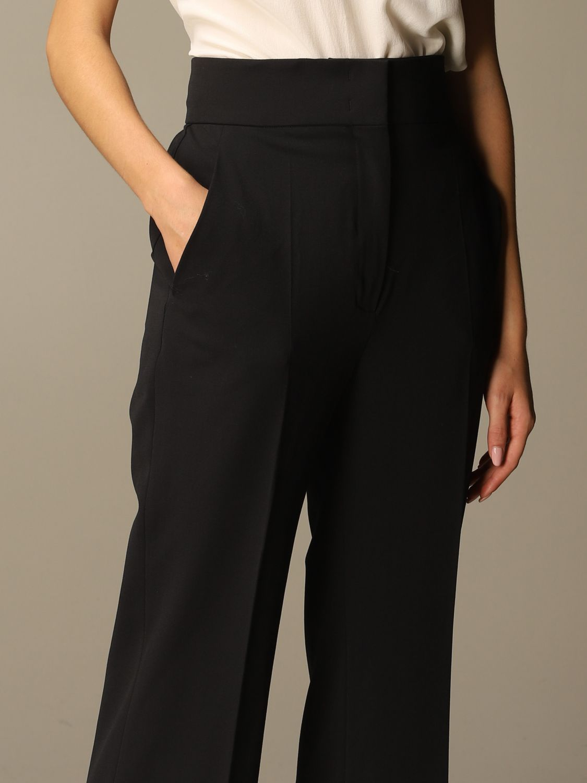 Pantalon Alberta Ferretti: Pantalon femme Alberta Ferretti noir 4