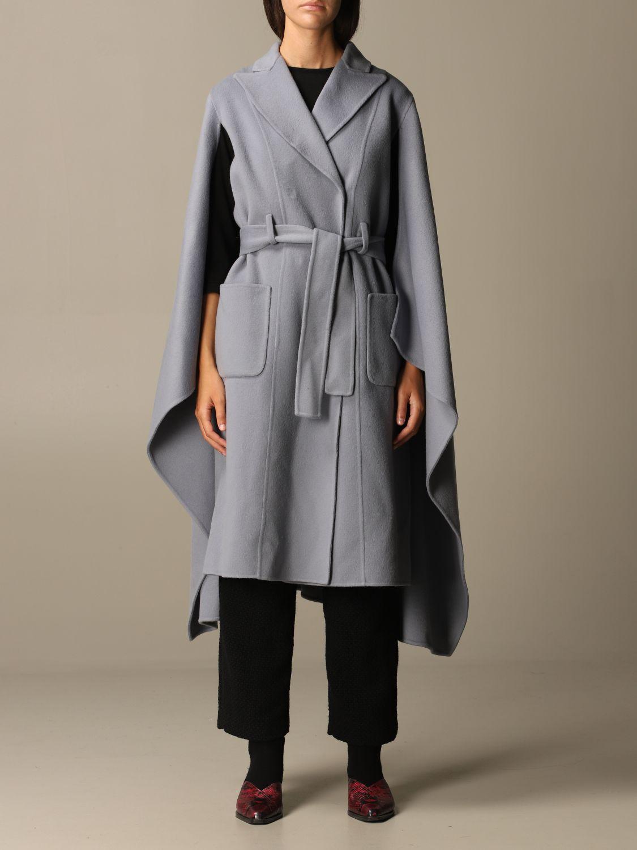 Manteau Alberta Ferretti: Veste femme Alberta Ferretti bleu ciel 1