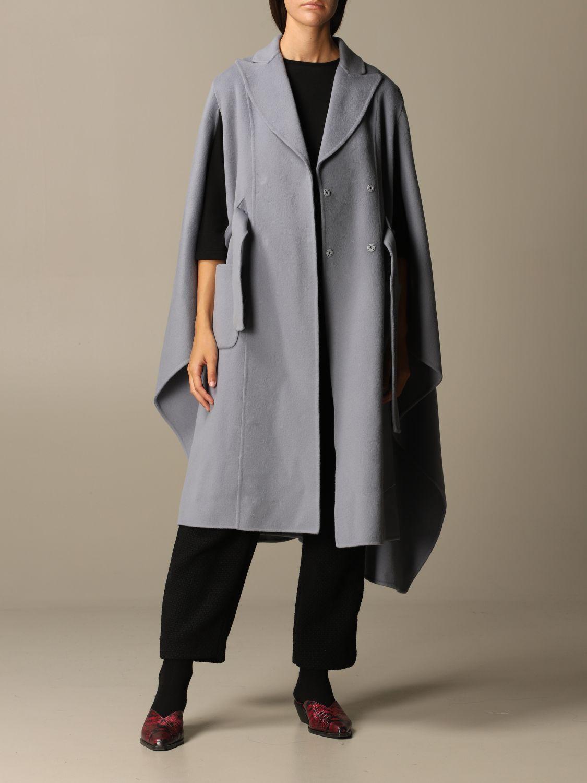 Manteau Alberta Ferretti: Veste femme Alberta Ferretti bleu ciel 2