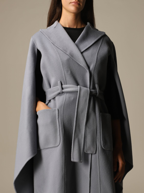 Manteau Alberta Ferretti: Veste femme Alberta Ferretti bleu ciel 5