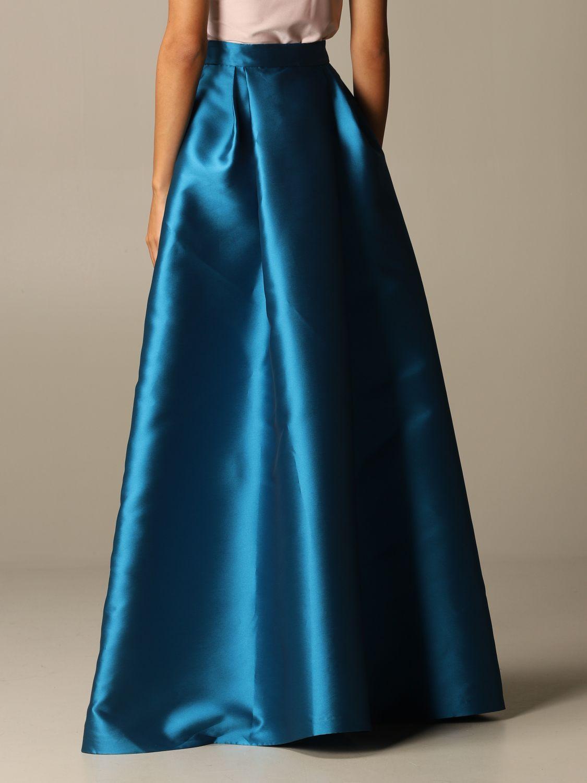 Skirt Alberta Ferretti: Skirt women Alberta Ferretti gnawed blue 3