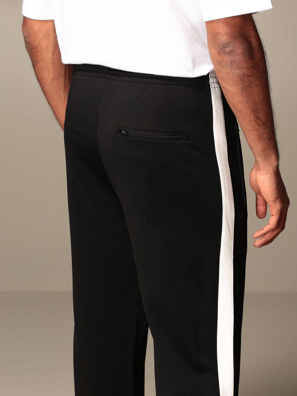 Pants Balenciaga: Balenciaga jogging trousers with contrasting bands black 4