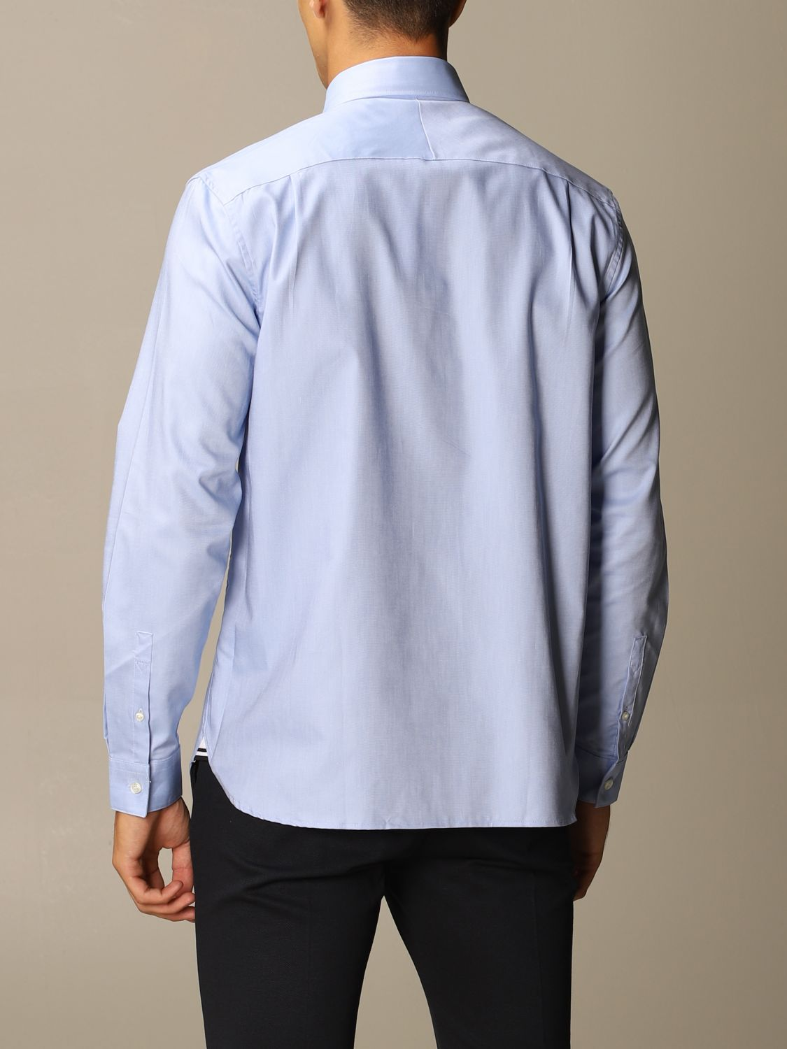 Shirt Fred Perry: Shirt men Fred Perry sky blue 2