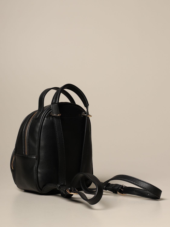 Duffel Bag Liu Jo: Liu Jo backpack in synthetic leather with logo black 2