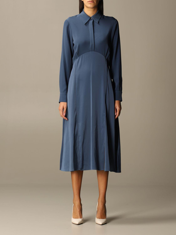 Kleid Victoria Victoria Beckham: Kleid damen Victoria Victoria Beckham blau 1