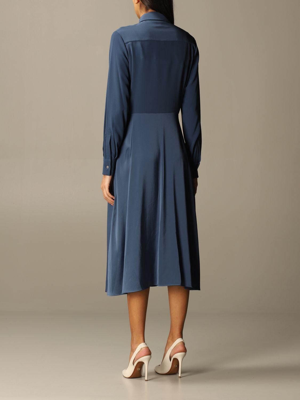 Kleid Victoria Victoria Beckham: Kleid damen Victoria Victoria Beckham blau 2