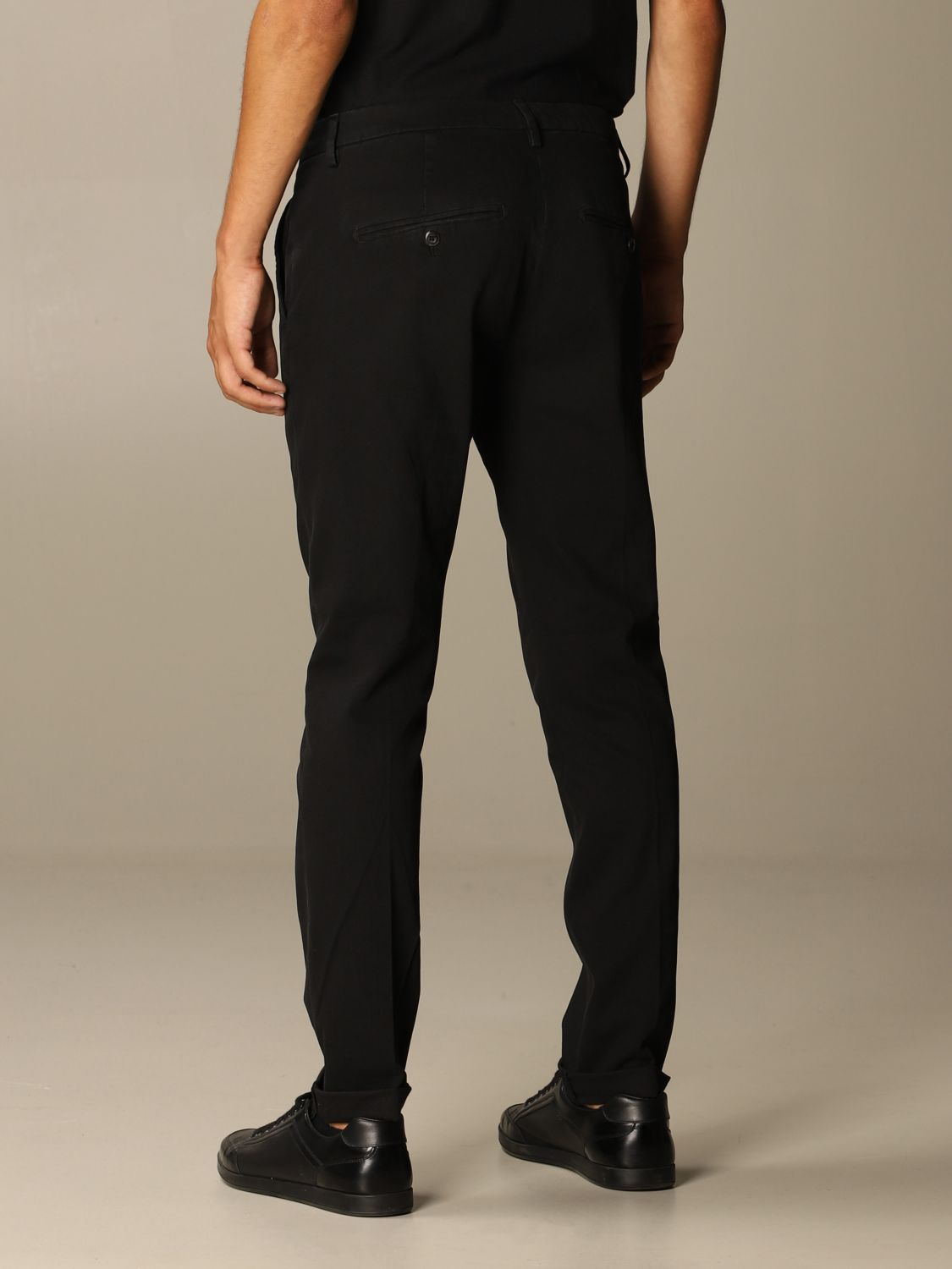 Pants Dondup: Pants men Dondup black 2