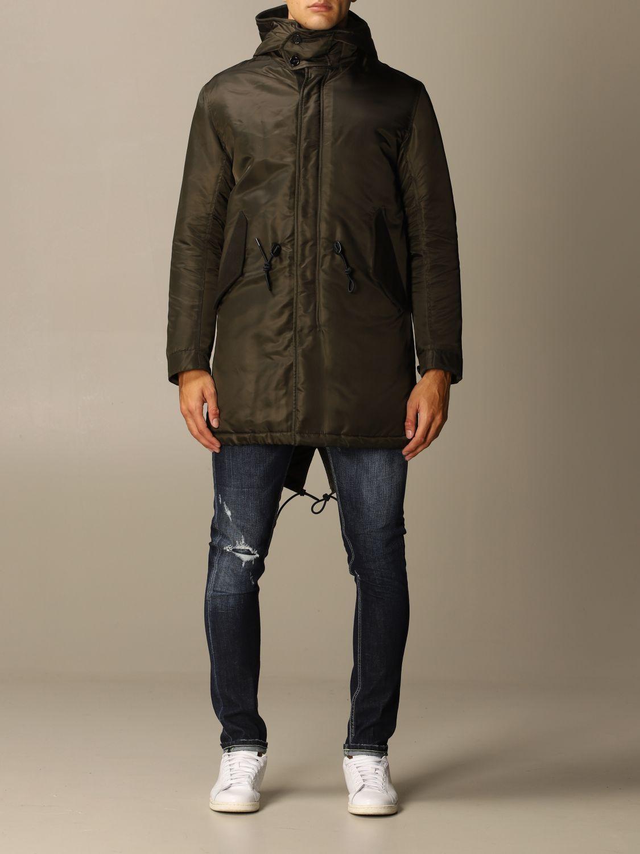 Jacket Dondup: Jacket men Dondup green 1
