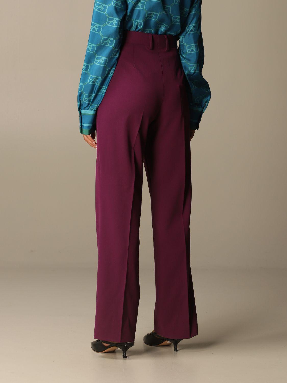 Pantalon Alberta Ferretti: Pantalon femme Alberta Ferretti violet 3