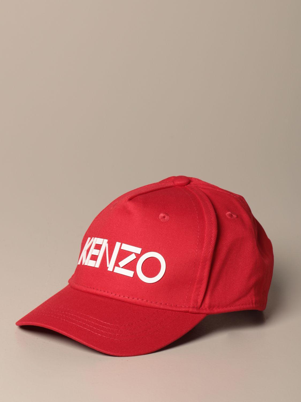 Chapeau Kenzo Junior: Chapeau enfant Kenzo Junior rouge 1