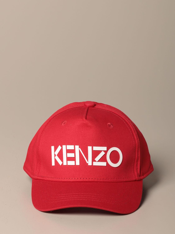 Chapeau Kenzo Junior: Chapeau enfant Kenzo Junior rouge 2